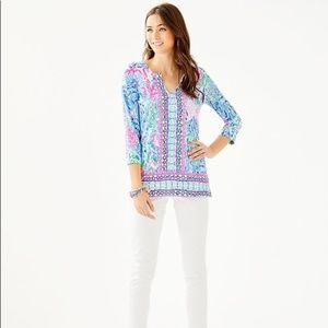 Lilly Pulitzer Karina Tunic in Chilly Lilly